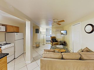 Wave-Side Wonder: Condo w/ Patio - Steps to Beach, Walk to Shops & Dining!