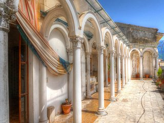 700 YEAR OLD PALAZZO CASTRUCCI, OUR FAIRYTALE MOUNTAIN PALACE IN ALVITO, ITALY!