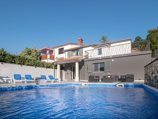 Amazing home in Dobrinj w/ Outdoor swimming pool and 4 Bedrooms (CKI200)