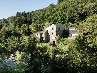 Moulin de Record Gîte de pêche Paul Corbière - Record Watermill Cottages
