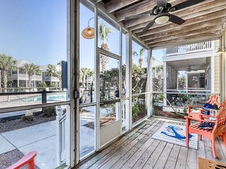 Remodeled beach getaway with shared hot tub & central location!