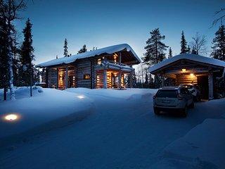 Ruka ski chalet finland