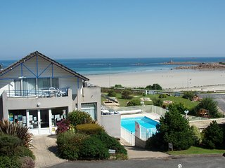 Terrasses de la plage de Trestel