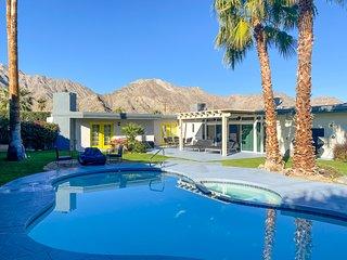 Mid century pool home with backyard oasis