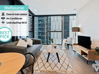KOZYGURU | Melbourne City | Perfect Tranquil Sanctuary | 1 Bed APT | VME023