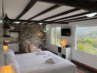 Casa Campacinas B Ribeira Sacra luxury 2 bed house, with panoramic views