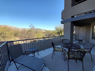 1st Floor Corner unit with All wood floors and Wrap Around Patio   Mtn Views