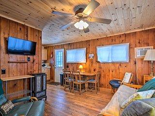 NEW! Lake Charlevoix Pet-Friendly Cabin Getaway!