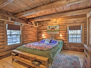 NEW! Cabin w/ Private Hot Tub: Walk to Pats Peak!