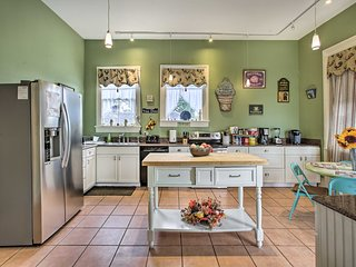 NEW! Group-Friendly Getaway in Historic NOLA Home!