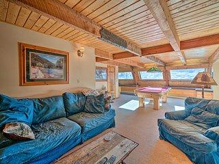 NEW! Unique Cabin w/ Indoor Pool & Mountain Views!