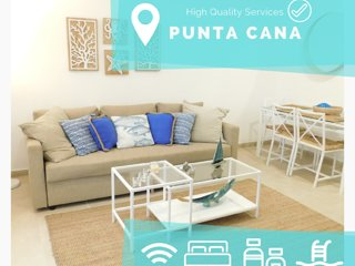 Cozy apartment in the center of Bavaro. B102 ideal parejas