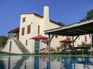 Villa Skantali with private pool