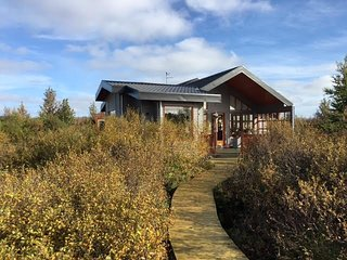 Accommodation in Grimsnes - Family Cabin