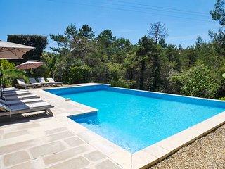Villa a 4 km del mar en La Cadiere-d'Azur, piscina y animales domesticos permiti