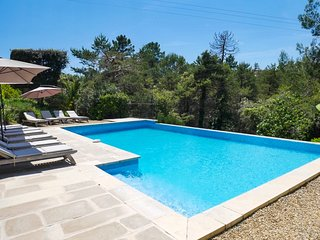 Villa a 4 km del mar en La Cadière-d'Azur, piscina y animales domésticos permiti