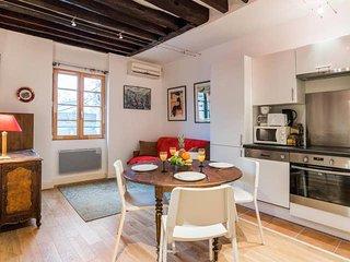 Le Marais - Temple Area Lovely 1-Bedroom