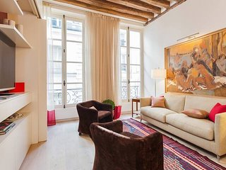 1039.STYLISH MODERN 2 BEDROOM APARTMENT IN THE HEART OF SAINT GERMAIN AND ODEON