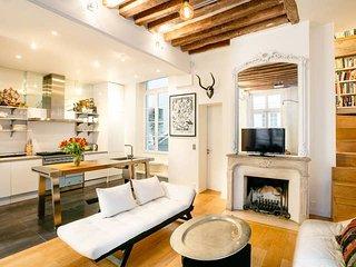 Saint Germain des Pres Stylish & Unique 3-Bedroom