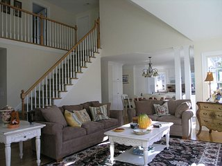 Open and airy family room ...perfect for families.