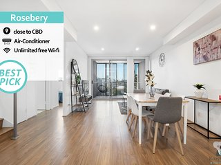 KOZYGURU | Rosebery | Penthouse | 3 BED APT + Free Parking | NRO791