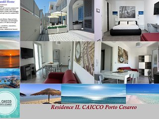 Residence IL CAICCO - Tirhandil Place [100 mt mare]