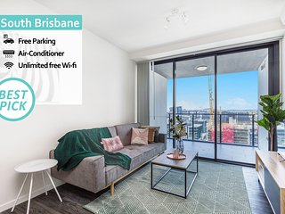 KOZYGURU | South Brisbane | Funky 1 BED APT | FREE PARKING | SODA-18