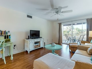 Convenient beachside home with shared pool and great central location