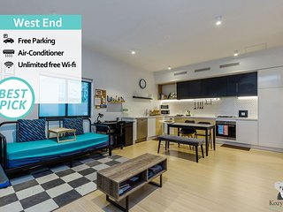 West End APT 10 min to City FREE PARKING QWE017