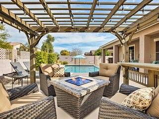 NEW! Immaculate Goodyear Getaway w/ Outdoor Oasis!