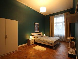 Elegant Art Nouveau Apartment For Rent in Center