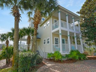 Charming getaway w/ lovely porches & shared pool - walk to the beach!