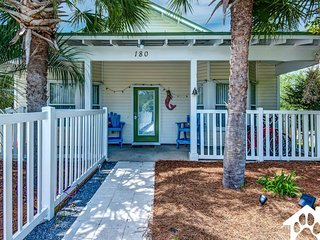Pet-friendly beach cottage w/ private pool & rooftop deck - close to the beach!