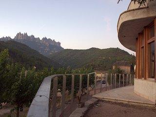 Casa ecológica con vistas a Montserrat: 8 plazas