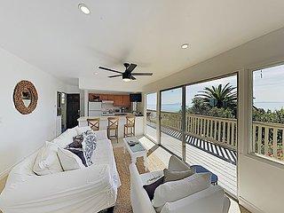 3BR/2BA Summerland Beach Retreat, Incredible Views, 2-Story Decks