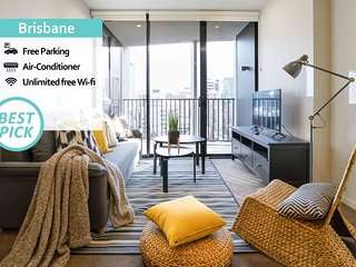 KOZYGURU | Brisbane City | 2Bed APT + FREE PARKING | SPIRE | QBN55023