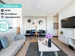 'Mid-Long Term Available Inquire'  Melbourne City Centre | Designer 2Bedroom