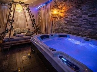 O Cocon Spa, nuit romantique avec spa interieur privatif