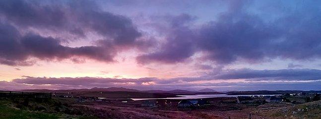 Harris View Sunset