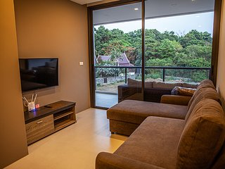 2 Bedrooms Beachfront Condo Mae Phim