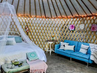 Yorkie Acres Farm Yurt & Farm Experience