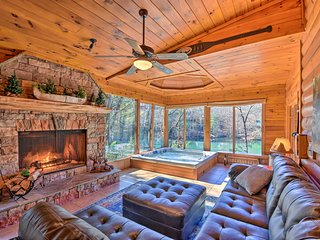 Lakefront Blue Ridge Haven: Deck, Canoe, Game Room