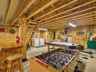 NEW! Ski Lodge/4-Season Mountain Retreat