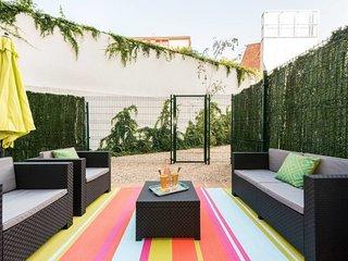 great terrace in Chamberi