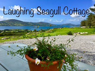Laughing Seagull Cottage  with spectacular sea views on the wild Atlantic Way