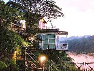 Superior House on the riverside of Kanchanaburi
