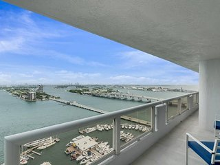 The Grand Miami | Two Bedroom Bay/Direct Ocean View Suite 3232 + Free Parking