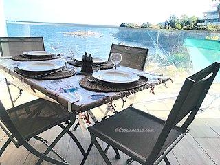 appartement dans résidence de standing vue mer 2/4 pers-piscine