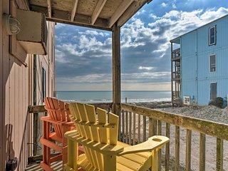 NEW! Oceanfront Beach Retreat - Steps to Shore!