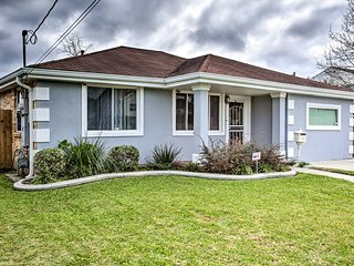 NEW! Home w/ Porch & Grill, 4 Mi to French Quarter